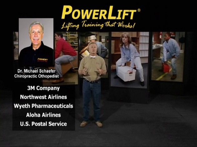 An overview of the proper safe lifting techniques for Dr. Michael Schaefer's PowerLift