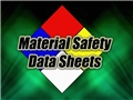 Example of Material Safety Data Sheets or MSDS, a key component of the Hazard Communication Program