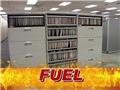 An example of how a file cabinet in an office is fuel for a fire which is one contributing factor