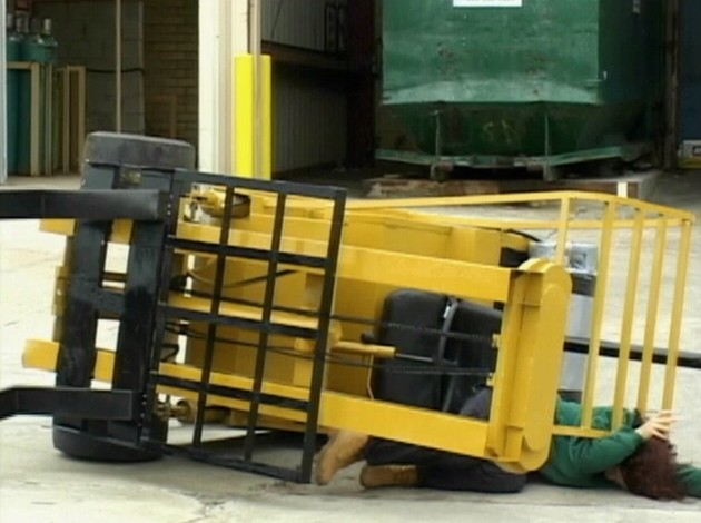 A worker crushed in a forklift accident that could have been avoided by following safety training