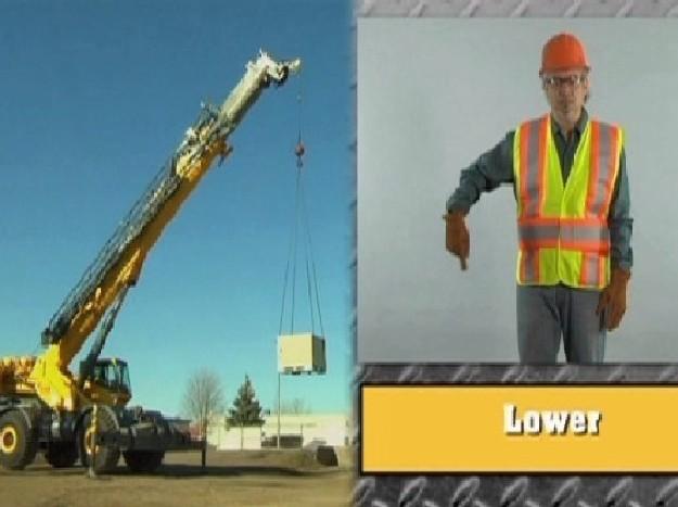 Crane Signal Person Basic Training