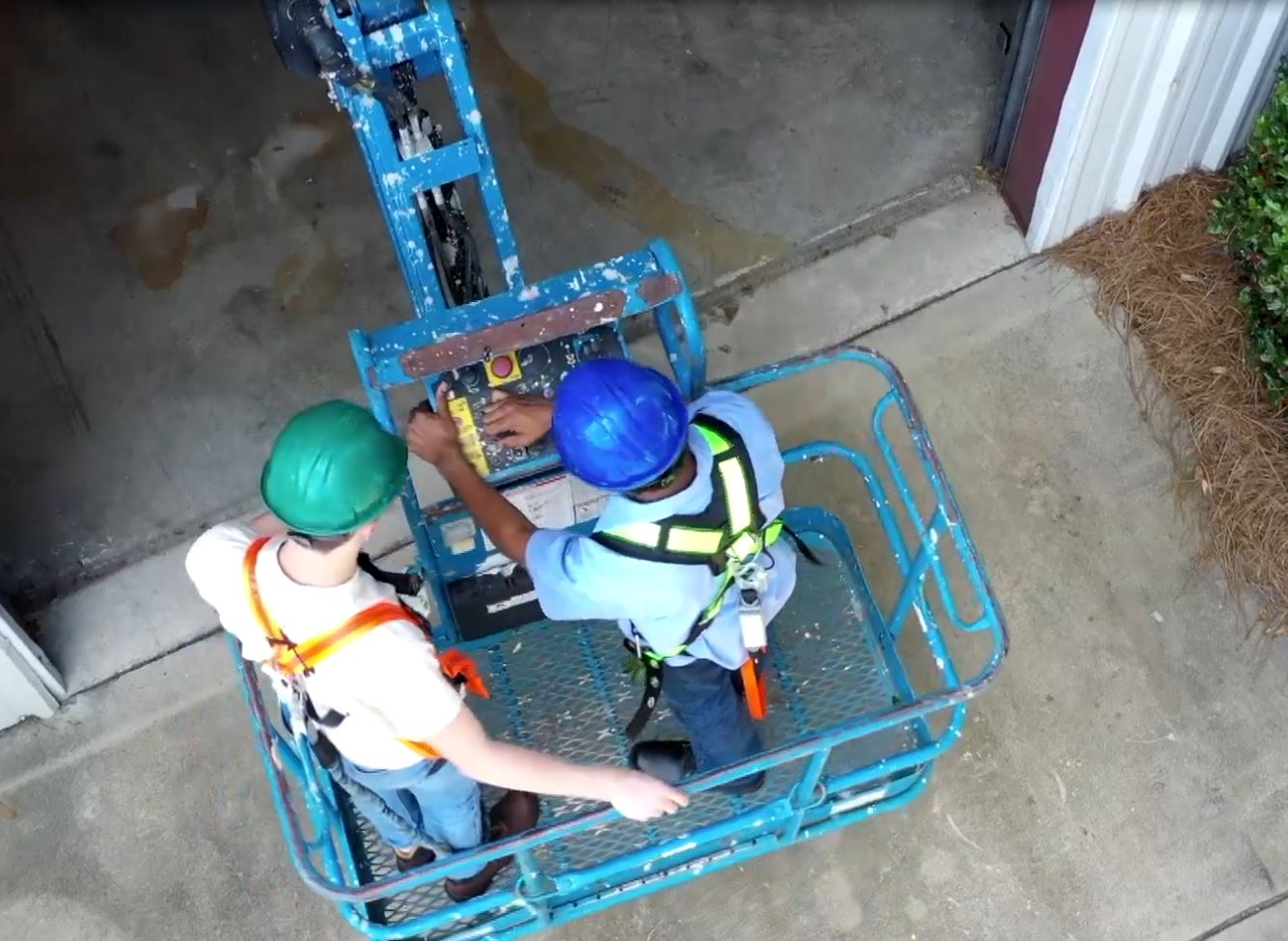 Workers attempting to avoid serious injury while operating a variety of elevated work platforms