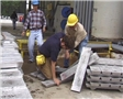 A worker suffering from a heat-related illness or heat stress while working in a hot environment