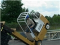 A re-creation of an actual forklift accident from OSHA files that resulted in injury or death