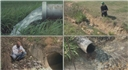 Examples of stormwater drainage that must follow the Stormwater Pollution Prevention Plan (SWPPP)