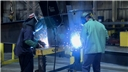 Welders working while being aware of the potential hazards of their job to stay safe at work
